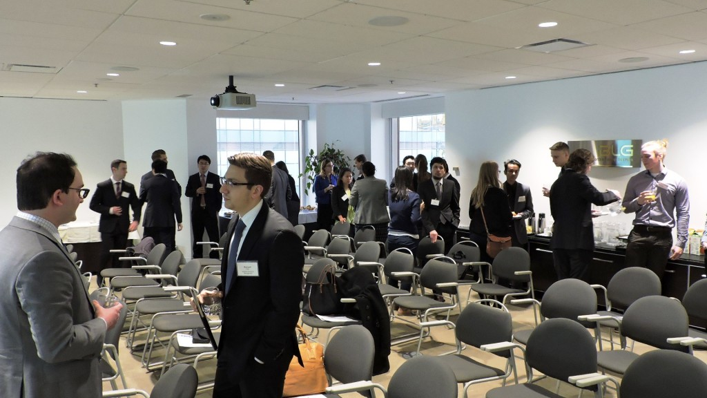 CIMTO MES Student Day 2015-4 Networking